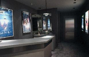 working with keith yates design group and ewing clark construction cello was able to achieve a result that rivals any purpose built ground up theater - Home Theater Design Group
