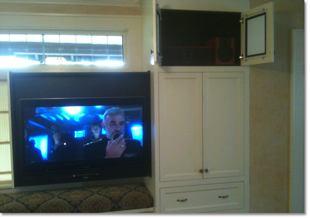 Cello Custom Products Slide Out Tv Mount